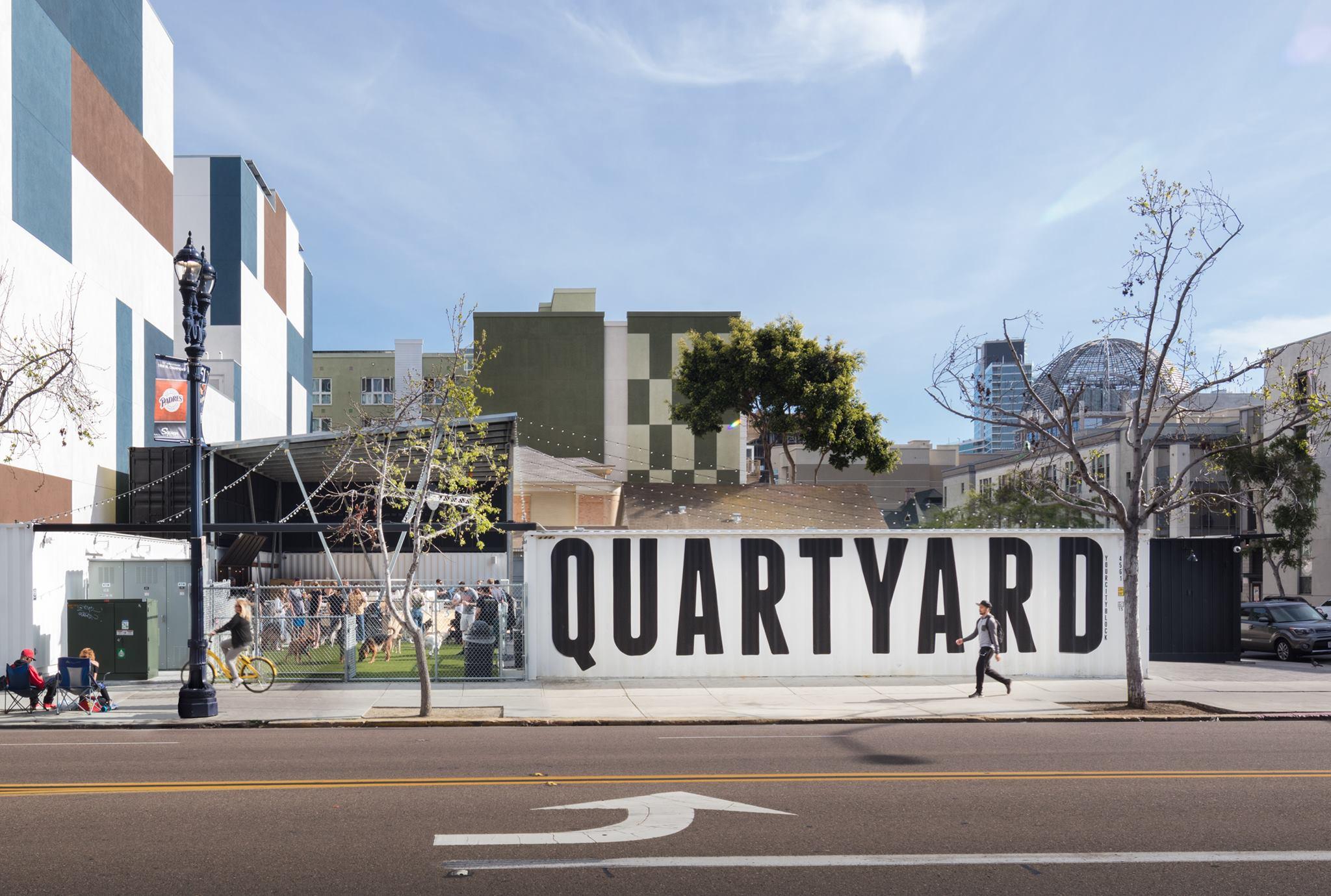 Best SD Restaurants Outdoor Seating: Quartyard