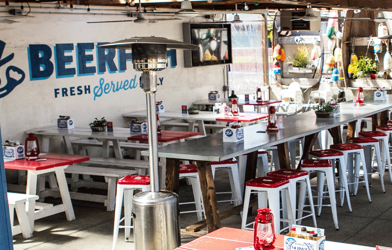 Best SD Restaurants Outdoor Seating: Beerfish