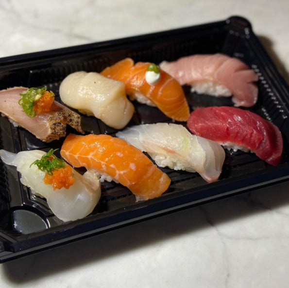 Takeout sushi from Sushi Note