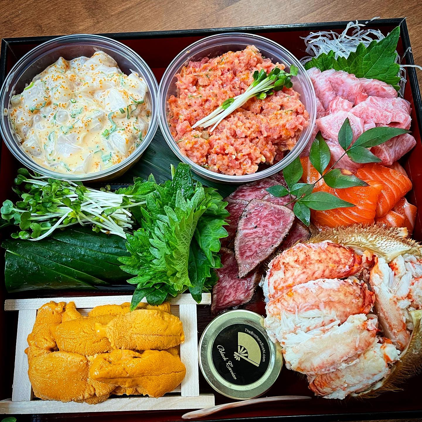 Hand roll kit from The Brothers Sushi