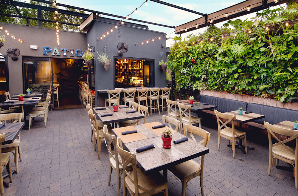 Best SD Restaurants Outdoor Seating: Patio on Lamont
