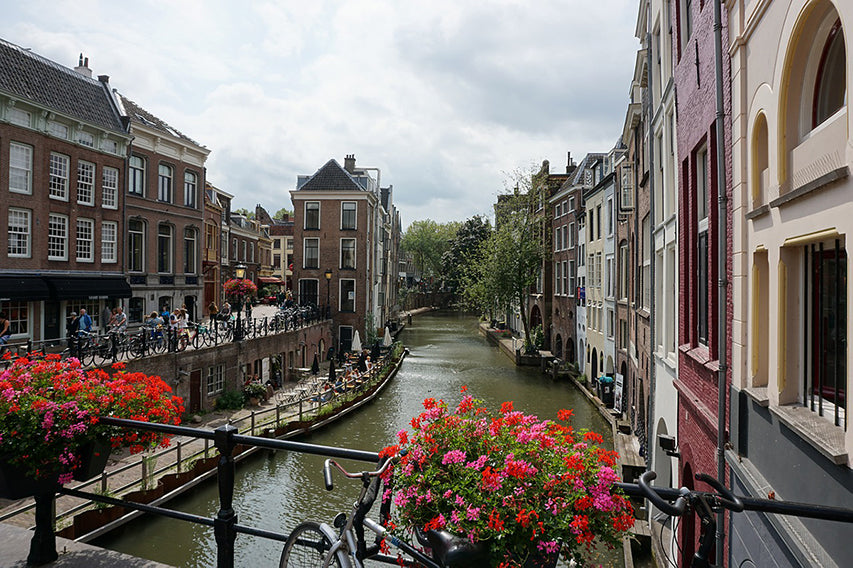Canal in Utrecht - Netherlands