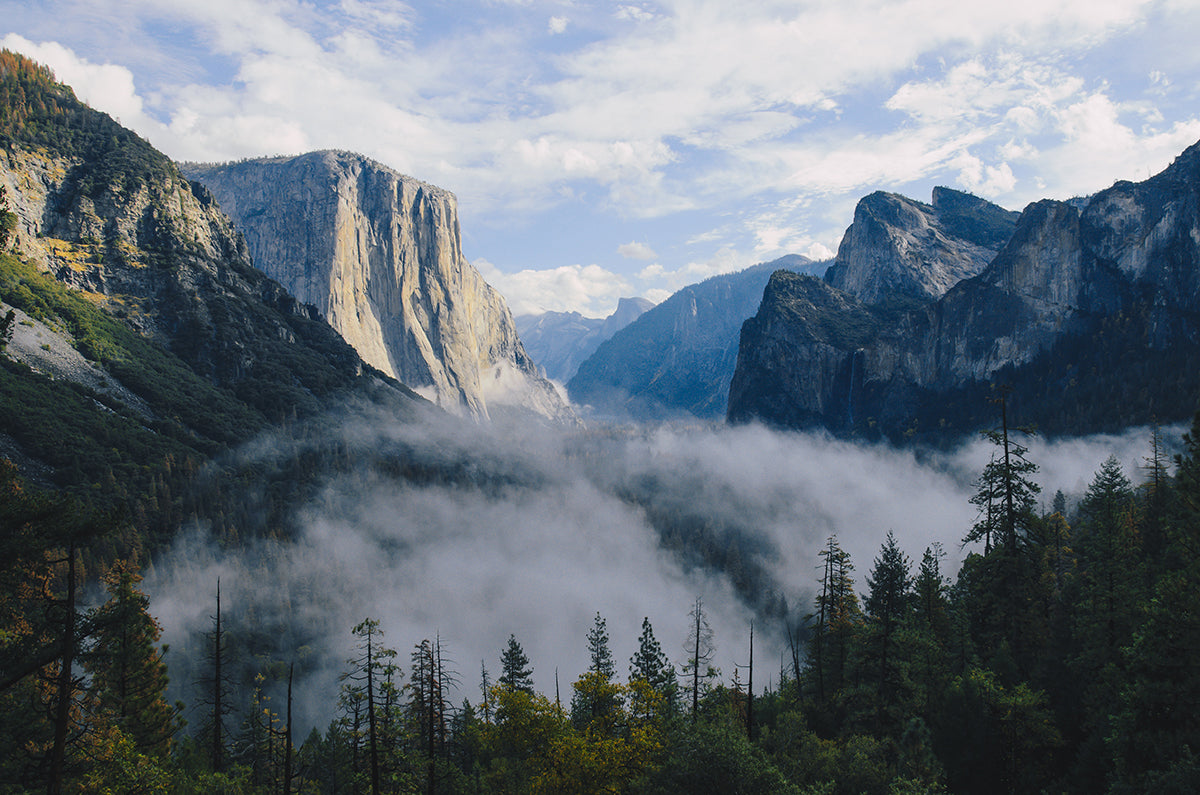 Yosemite Valley, California in the US