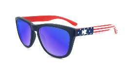 American flag print kids sunglasses