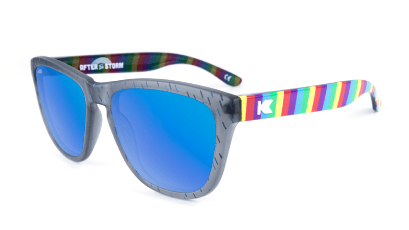 Rainbow themed sunglasses