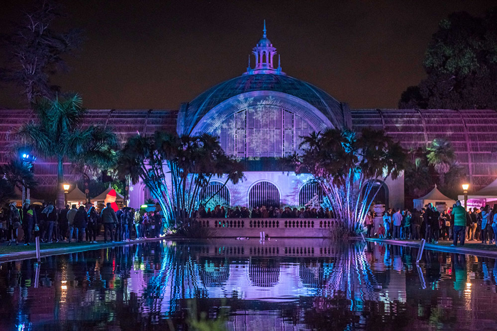Check out Balboa Park December Nights