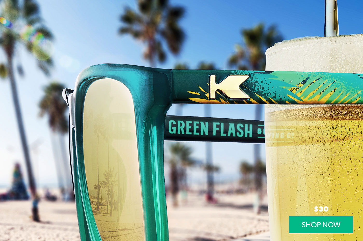 Knockaround x Green Flash Brewing Co.