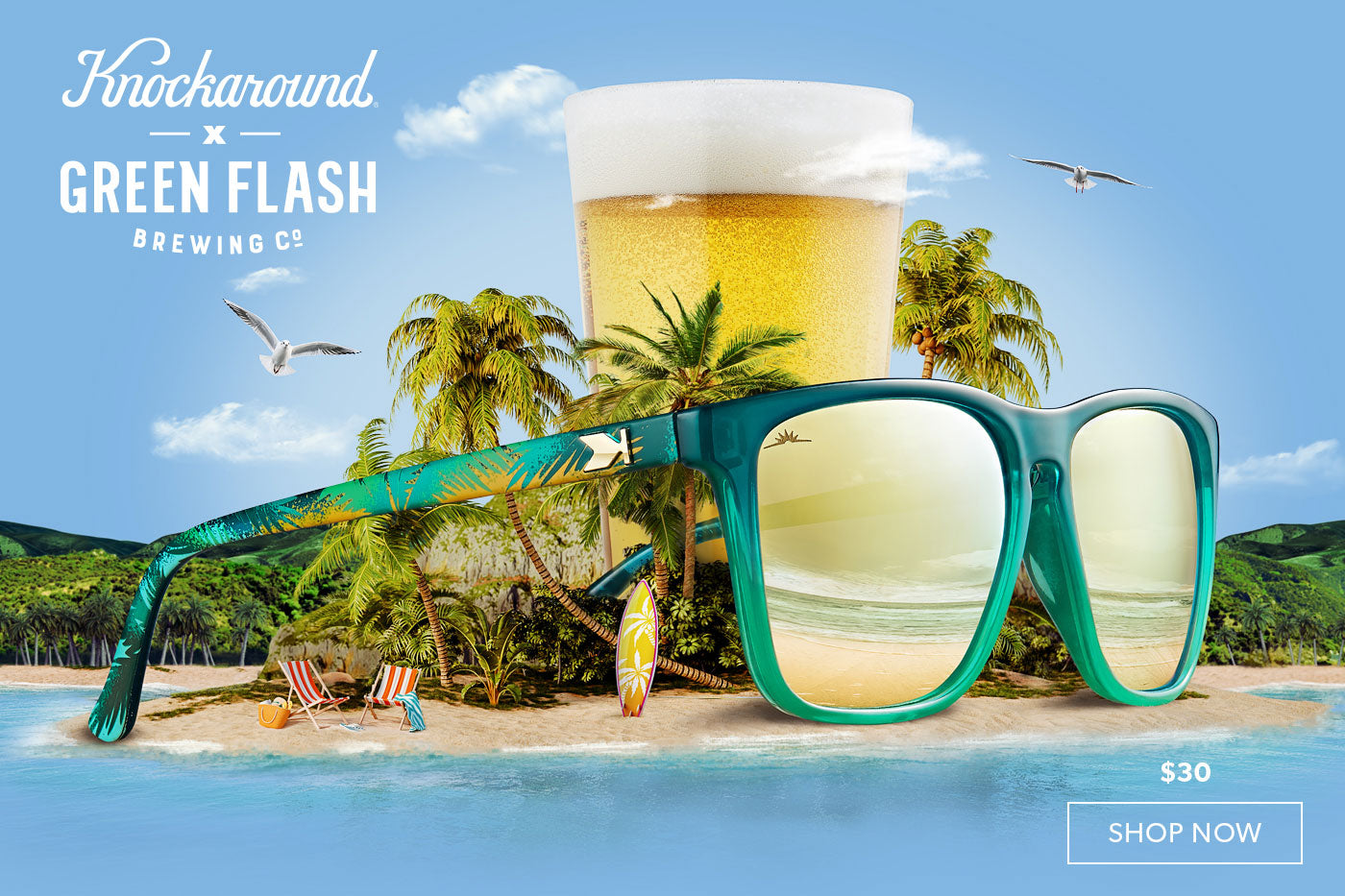 Knockaround X Green Flash Release Party