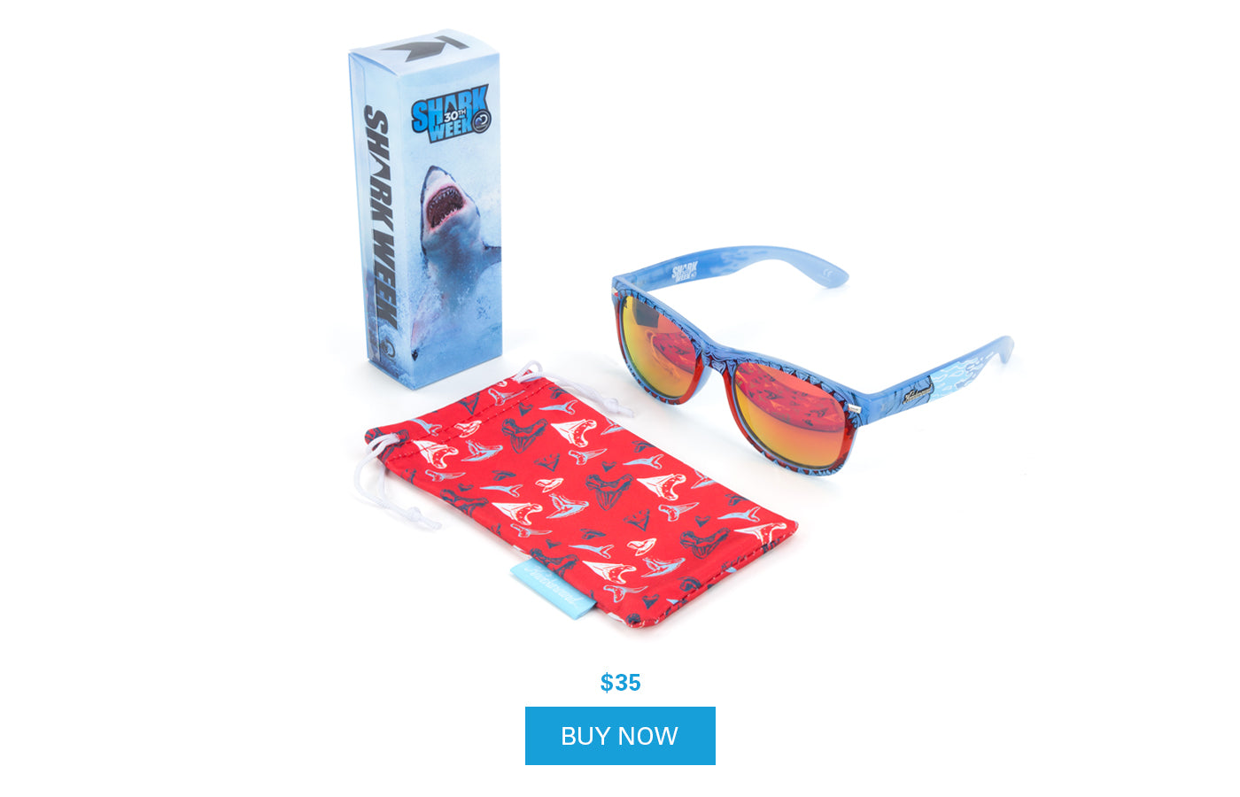 77afc8db8da2 Shark Week Fort Knocks - Knockaround Sunglasses