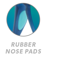 Rubberized Navy / Mint Fast Lanes Sport Rubber Nose Callout