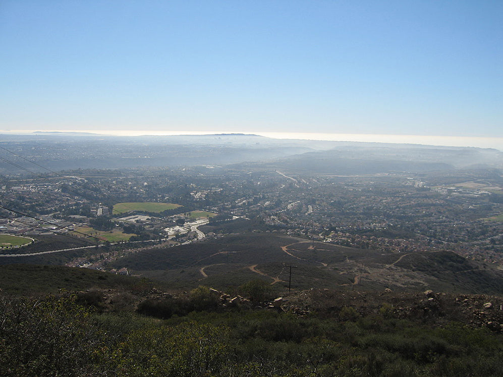 View from the top of Black Mountain - San Diego