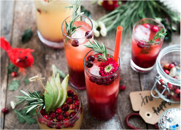 Holiday-themed cocktails