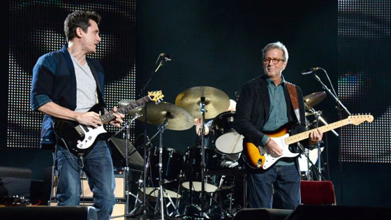 John Mayer and Eric Clapton