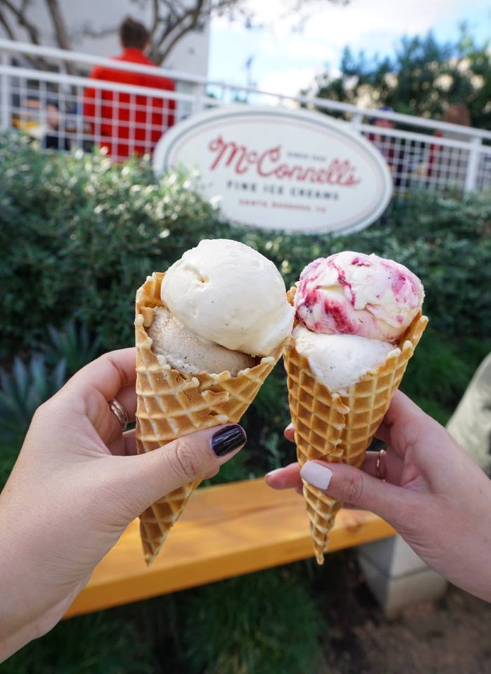 McConnell's ice cream in Los Angeles
