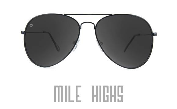 Mile Highs Aviator Sunglasses