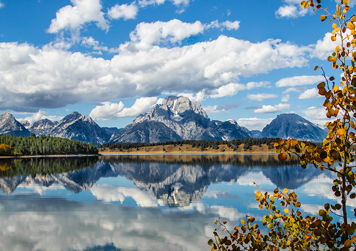 Grand Teton National Park in Jackson Wyoming
