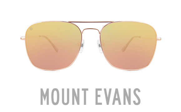 Mount Evans Squared Aviator Sunglasses