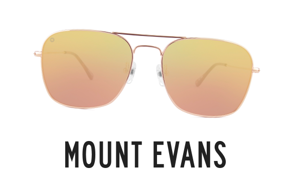 Shop Mount Evans Squared Aviator Sunglasses