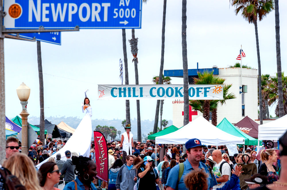 Ocean Beach San Diego OB Street Fair Chili Cook Off