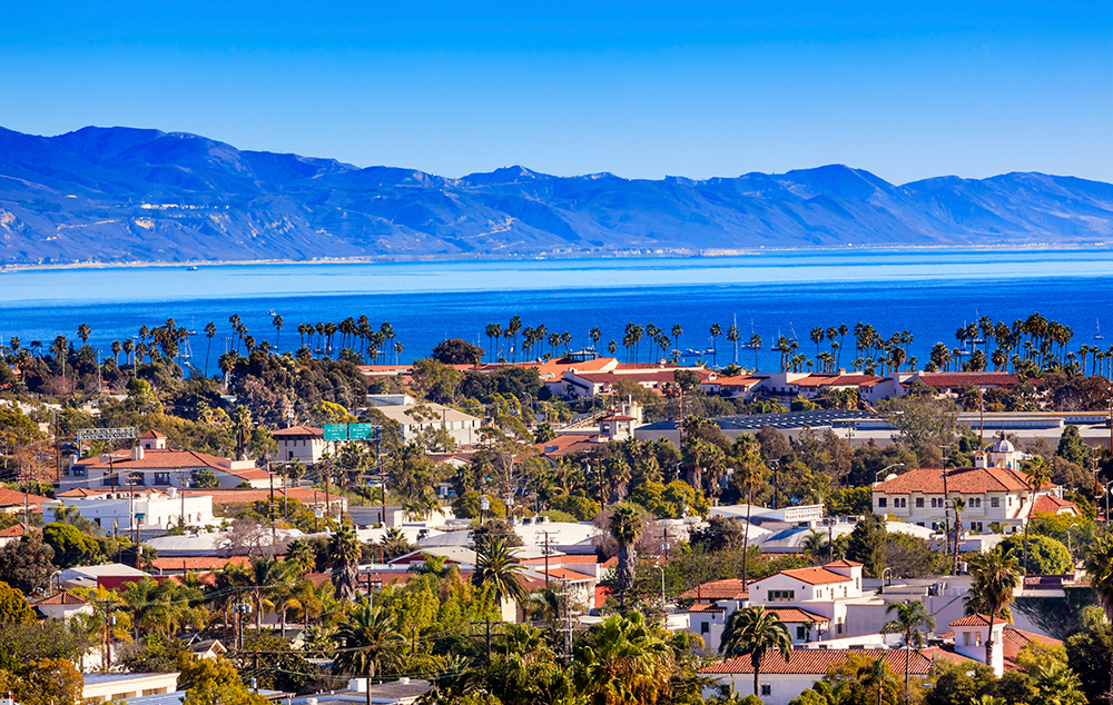 9 Top Beach Towns in the U.S. - Santa Barbara