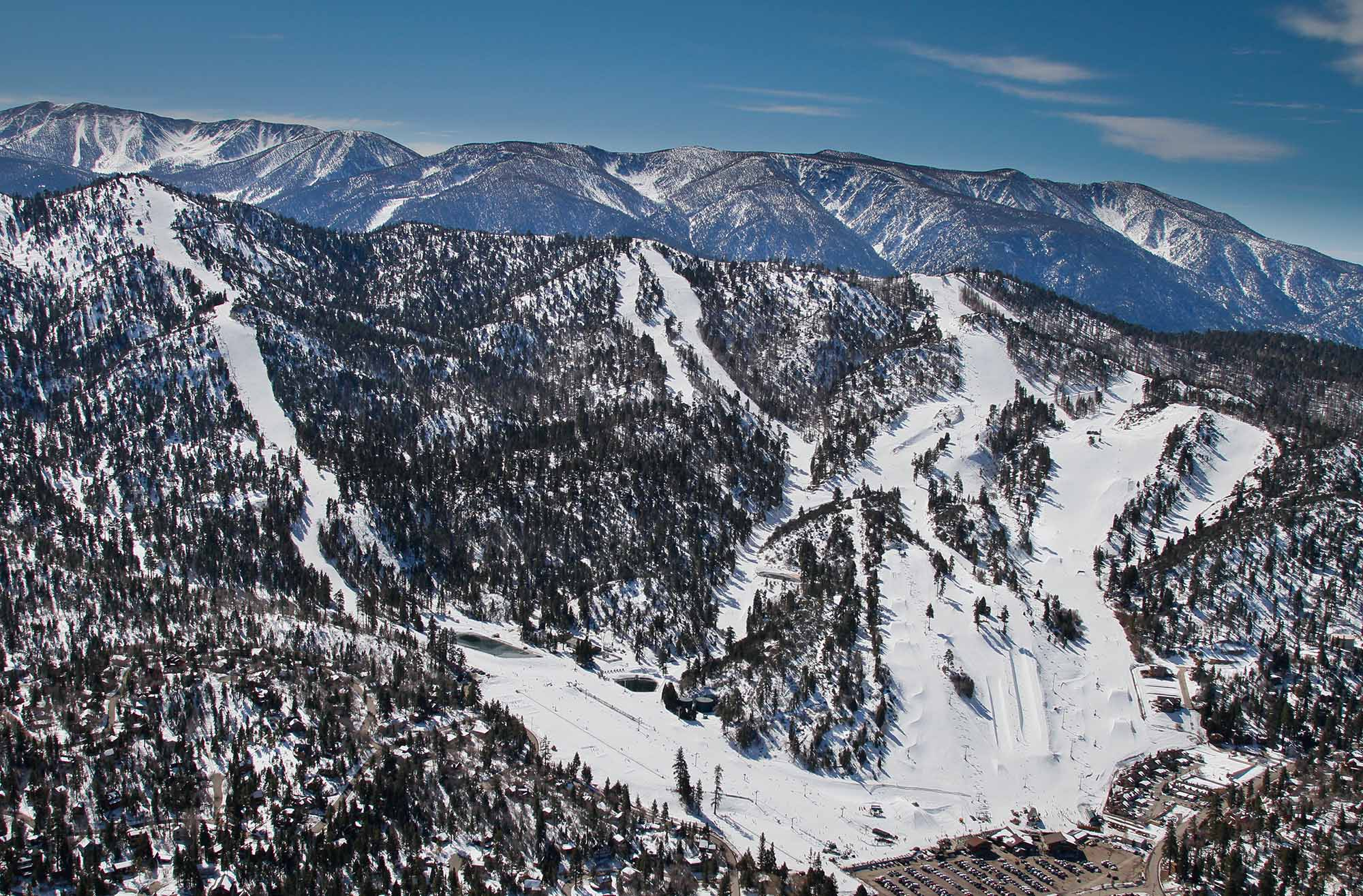 Snow Summit and Bear Mountain Resorts