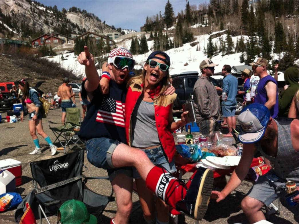 Spring Skiing party