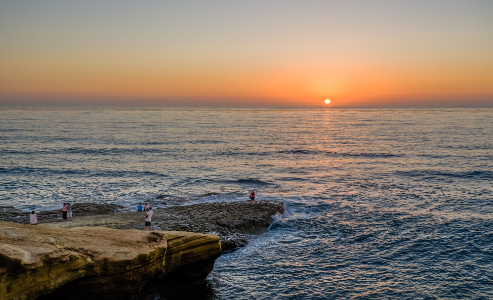 Catch a sunset at Sunset Cliffs