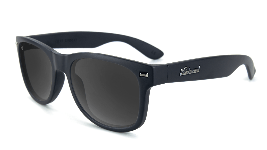 Black sunglasses with black lenses