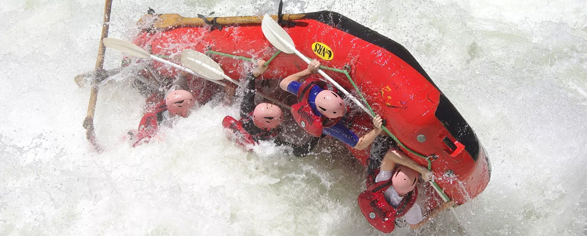 Bundu Adventures white water rafting on the Zambezi River
