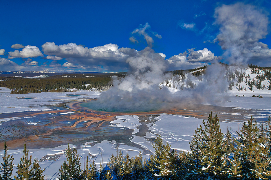 Yellowstone National Park in Jackson Wyoming