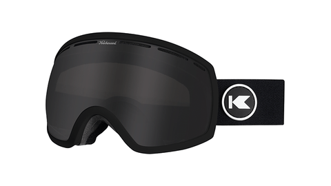 Knockaround Snow Goggles, Black / Smoke, Flyover