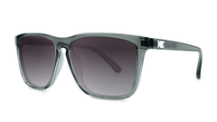 Fast Lanes Sunglasses Grey Frames with Grey lenses, Threequarter
