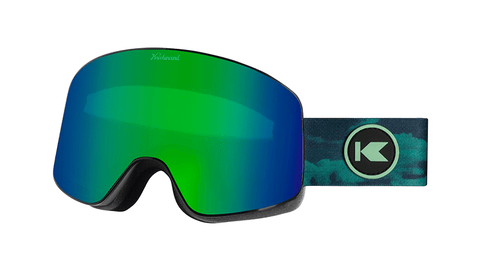 Knockaround Snow Goggles, Green Machine, Flyover