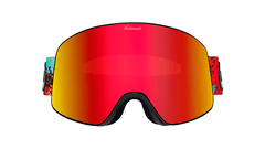 Knockaround Snow Goggles, Hot Tamale, Front