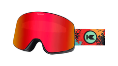 Knockaround Snow Goggles, Hot Tamale, Flyover