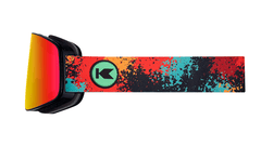 Knockaround Snow Goggles, Hot Tamale, Side