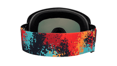 Knockaround Snow Goggles, Hot Tamale, Back