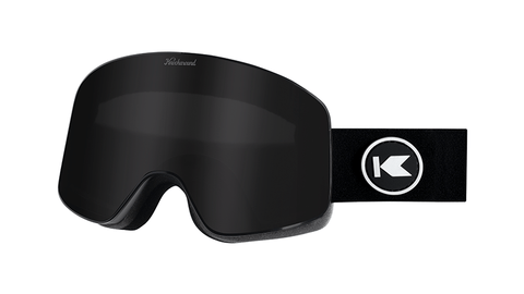 Knockaround Snow Goggles, Black Smoke, Flyover