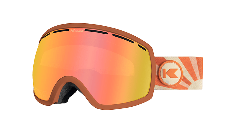 Knockaround Snow Goggles, Sun Kissed, Flyover