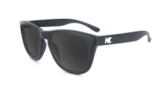 Kids Sunglasses with Black Frame, and Smoke Lenses, Flyover