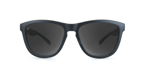 Kids Sunglasses with Black Frame, and Smoke Lenses, Back