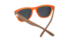 Kids Sunglasses with Campfire Frames and Red Sunset Lenses, Back