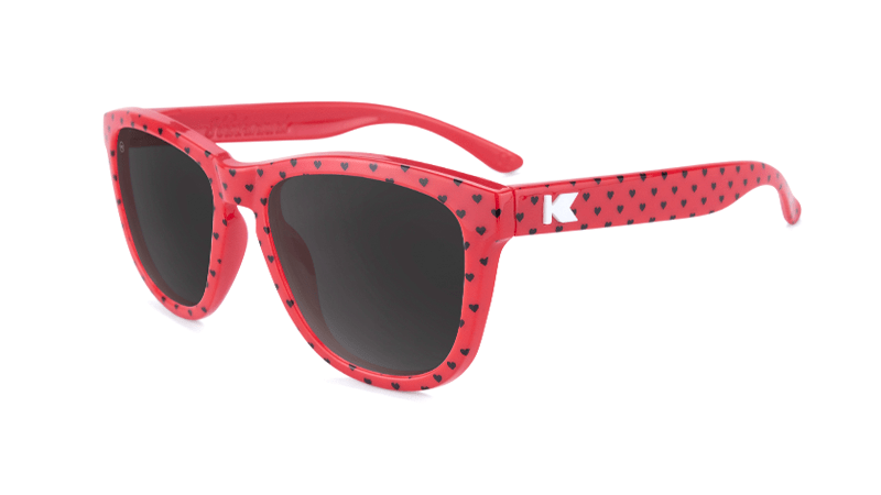 Kids Sunglasses with Lovebug Frames and Smoke Lenses, Flyover