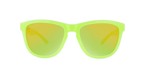 Kids Sunglasses with Pineapple Frames and Yellow Lenses, Back