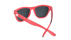 Kids Sunglasses with Red Monochrome Frame and Red Lenses, Back
