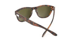 Knockaround Kids Sunglasses Tortoise Shell Frames with Amber Lenses, Back