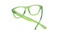 Rx Premiums with Glossy Agave Frames and Prescriptions Lenses, Back