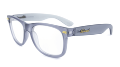 Rx Fort Knocks with Frosted Grey Frames and Prescriptions Lenses, Flyover