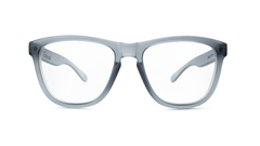 Rx Premiuns with Frosted Grey Frames and Prescriptions Lenses, Front