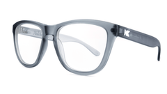 Rx Premiuns with Frosted Grey Frames and Prescriptions Lenses, ThreeQuarter